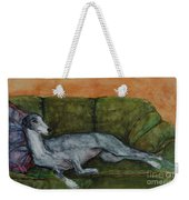 The Couch Potatoe Weekender Tote Bag by Frances Marino