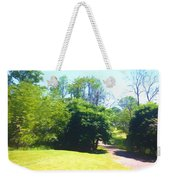 The Country Lane In Spring Time Weekender Tote Bag