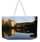 The County Bridge Weekender Tote Bag