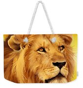 The Courageous Cecil - African Lion Weekender Tote Bag