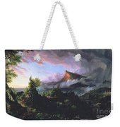 The Course Of Empire - The Savage State Weekender Tote Bag by Thomas Cole