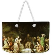 The Court Of Death Weekender Tote Bag by Rembrandt Peale