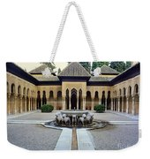 The Court Of The Lions Alhambra Spain Weekender Tote Bag