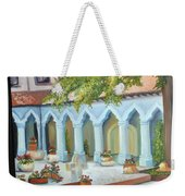 The Court Yard Weekender Tote Bag