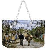 The Cow Herder Weekender Tote Bag
