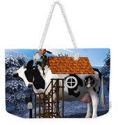 The Cow House Weekender Tote Bag