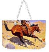 The Cowboy 1902 Weekender Tote Bag