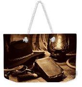 The Cowboy Bible Weekender Tote Bag