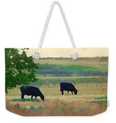 The Cows Next Door Weekender Tote Bag