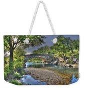 The Crabb Creek Bridge Weekender Tote Bag
