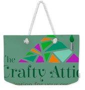 The Crafty Attic Weekender Tote Bag
