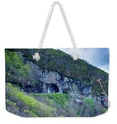 The Craggy Pinnacle Tunnel On The Blue Ridge Parkway In North Ca Weekender Tote Bag