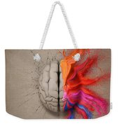 The Creative Brain Weekender Tote Bag