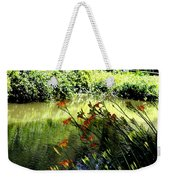 The Creek At The Old Mill Weekender Tote Bag