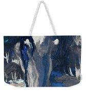 The Creekside Bath Of Alice In Royal Blue Weekender Tote Bag