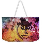 The Creepy All Seeing Bolted Dude Weekender Tote Bag