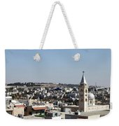 The Cross And The Wall Weekender Tote Bag