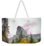 The Cross On The Top Of The Mountain Weekender Tote Bag