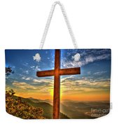 The Cross The Choice Pretty Place Chapel Greenville South Carolina Art Weekender Tote Bag