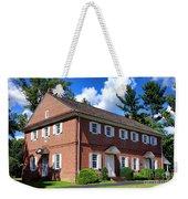 The Crosswicks Meeting House In Chesterfield  Weekender Tote Bag