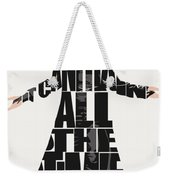 The Crow Weekender Tote Bag by Inspirowl Design