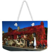 The Crown At Kelston Weekender Tote Bag