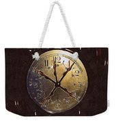 The Crucifixion Of Time Weekender Tote Bag