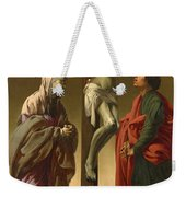 The Crucifixion With The Virgin And Saint John Weekender Tote Bag