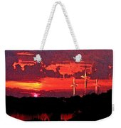 The Crucifixtion Weekender Tote Bag