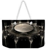 The Crystal Clock Weekender Tote Bag