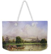 The Crystal Palace Seen From The Serpentine Weekender Tote Bag
