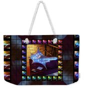 The Crystal Shell - Illuminated Weekender Tote Bag