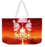 The Crystal Skull Weekender Tote Bag