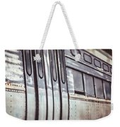 The Cta Train Weekender Tote Bag
