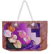 The Cubist Scream Weekender Tote Bag