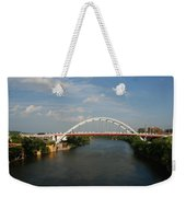 The Cumberland River In Nashville Weekender Tote Bag