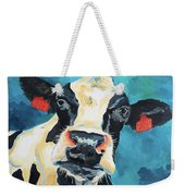 The Curious Cow Weekender Tote Bag