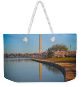The Curve Of The Basin Weekender Tote Bag
