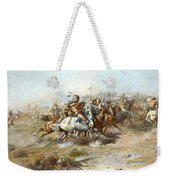 The Custer Fight Weekender Tote Bag