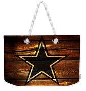 The Dallas Cowboys 3a Weekender Tote Bag