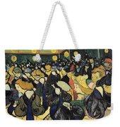 The Dance Hall At Arles Weekender Tote Bag by Vincent Van Gogh