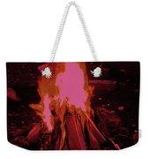 The Dance Of Fire Weekender Tote Bag