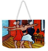 The Dancers Weekender Tote Bag