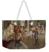 The Dancing Class Weekender Tote Bag by Edgar Degas