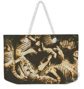 The Dark Dinosaur Abstract Weekender Tote Bag