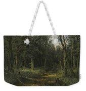 The Dark Wood Weekender Tote Bag