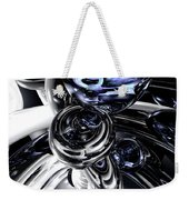 The Darkside Abstract Weekender Tote Bag