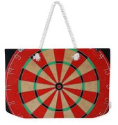 The Dart Board Weekender Tote Bag