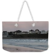 The Day Is Done At Long Sands Beach Weekender Tote Bag