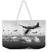 The Day Job Black And White Version Weekender Tote Bag